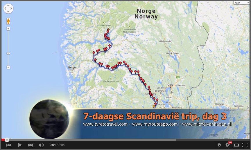 Afbeelding videclip Noorwegen dag 3