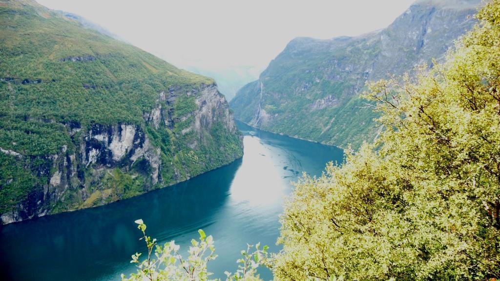 Geiranger fjord!
